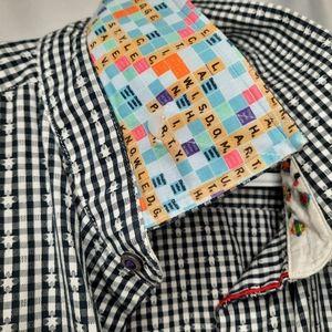 Robert Graham Scrabble Button Down Shirt